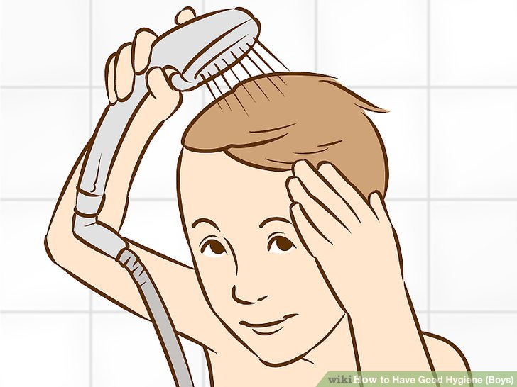 Clipart of good hygiene practices for adults png freeuse library 3 Ways to Have Good Hygiene (Boys) - wikiHow png freeuse library