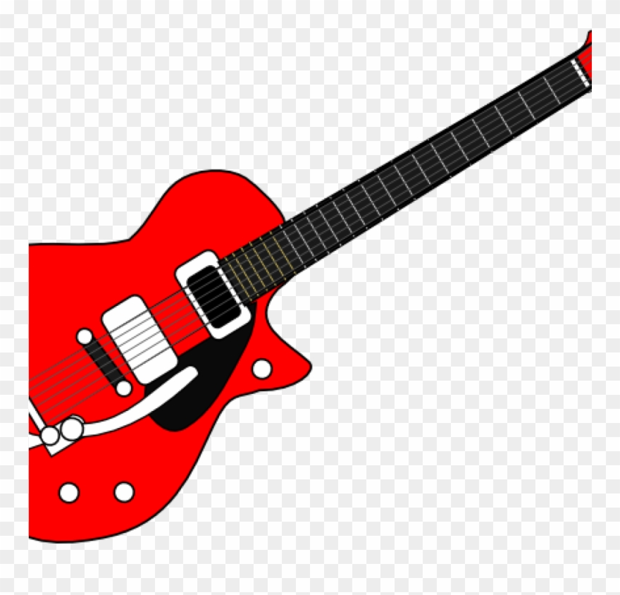 Images of guitars clipart clip black and white download Guitar Cliparts Guitar Clip Art At Clker Vector Clip - Red Electric ... clip black and white download