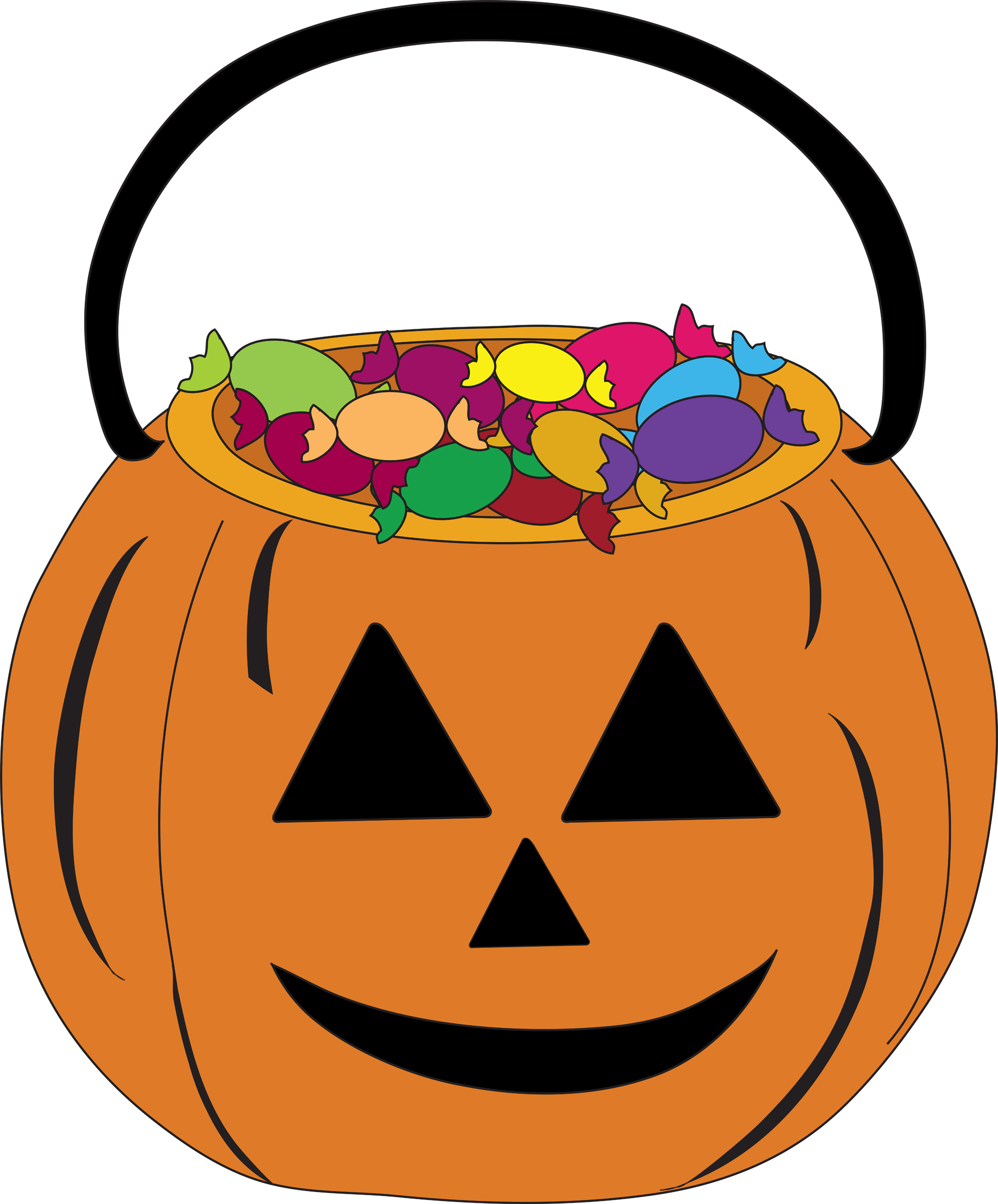 Sweet treats candy clipart images jpg transparent Halloween candy clipart 2 - WikiClipArt jpg transparent