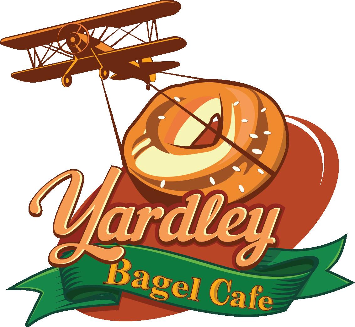 Breakfast — Yardley Bagel Cafe banner royalty free
