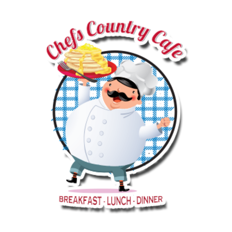 Clipart of ham and turkey omelette black and white Chef's Country Cafe Delivery - 17039 Valley Blvd Fontana | Order ... black and white
