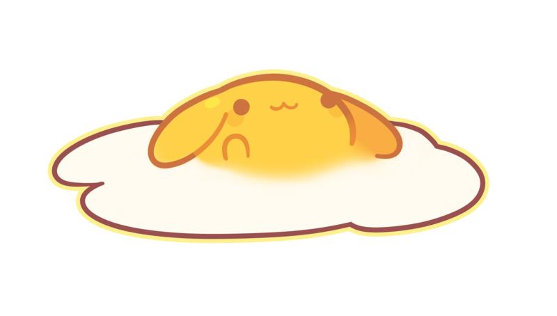 Fried egg Breakfast Clip art - Free omelette pull cartoon creative ... vector royalty free