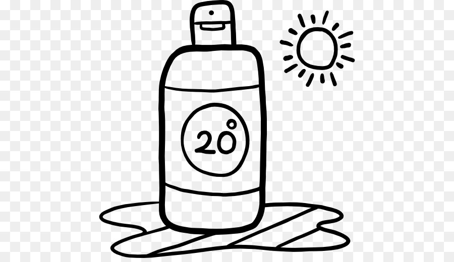 Suntan lotion black and white clipart image free stock Sun Drawing png download - 512*512 - Free Transparent Sunscreen png ... image free stock