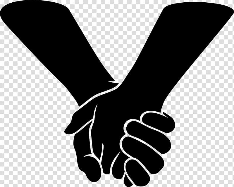 Clipart of hands holding svg black and white library Holding company Zazzle , holding hands transparent background PNG ... svg black and white library