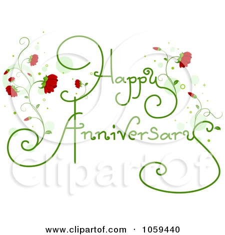 Clipart of happy anniversary svg transparent Royalty-Free (RF) Happy Anniversary Clipart, Illustrations, Vector ... svg transparent