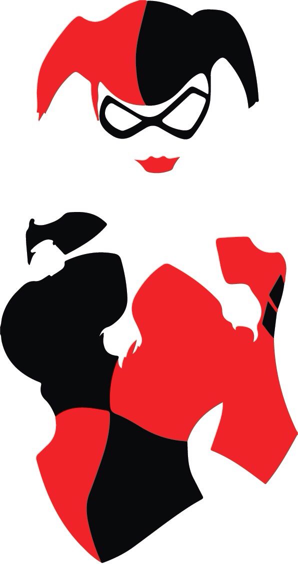 Clipart of harley quinn clip art royalty free library 1000+ images about Harley Quinn is Queen on Pinterest | Margot ... clip art royalty free library