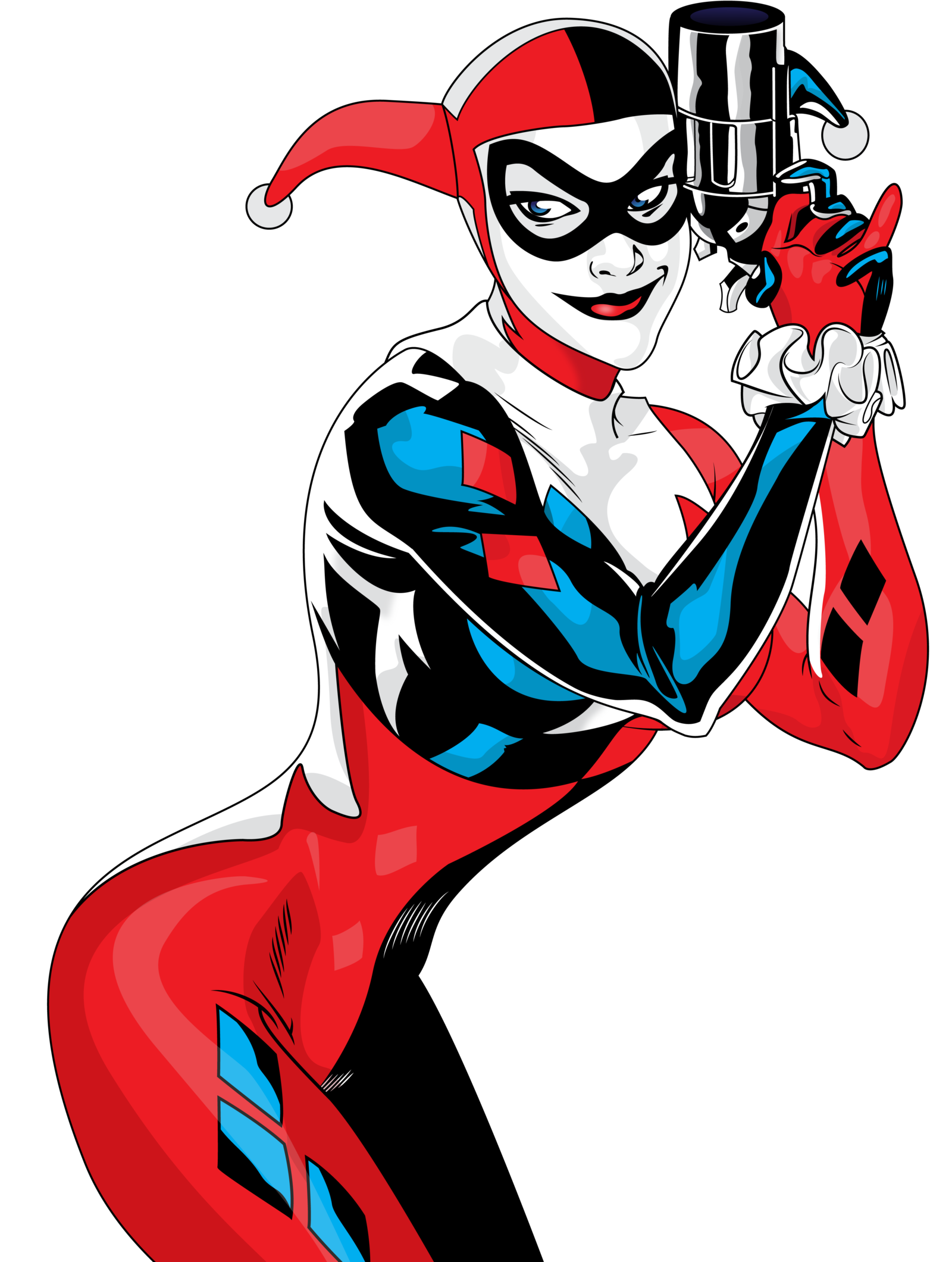 Clipart of harley quinn clip library stock Harley Quinn PNG Transparent Images | Free Download Clip Art ... clip library stock