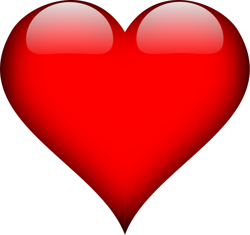 Clipart of heart shape picture freeuse Plain Red Heart Shape Clip Art Download - Clip Art Library picture freeuse