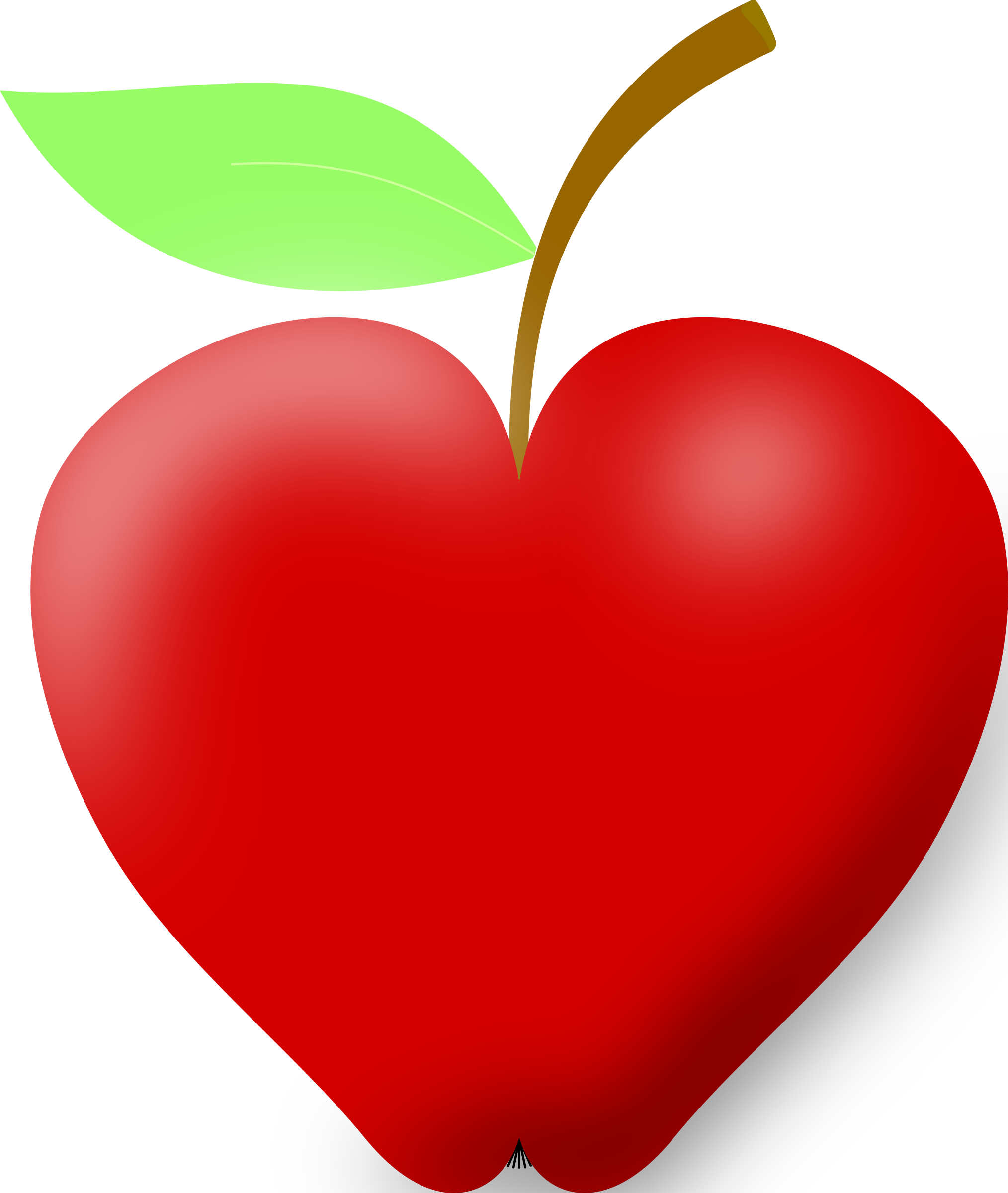 Heart shaped pizza clipart image library library Apple clipart heart image library library