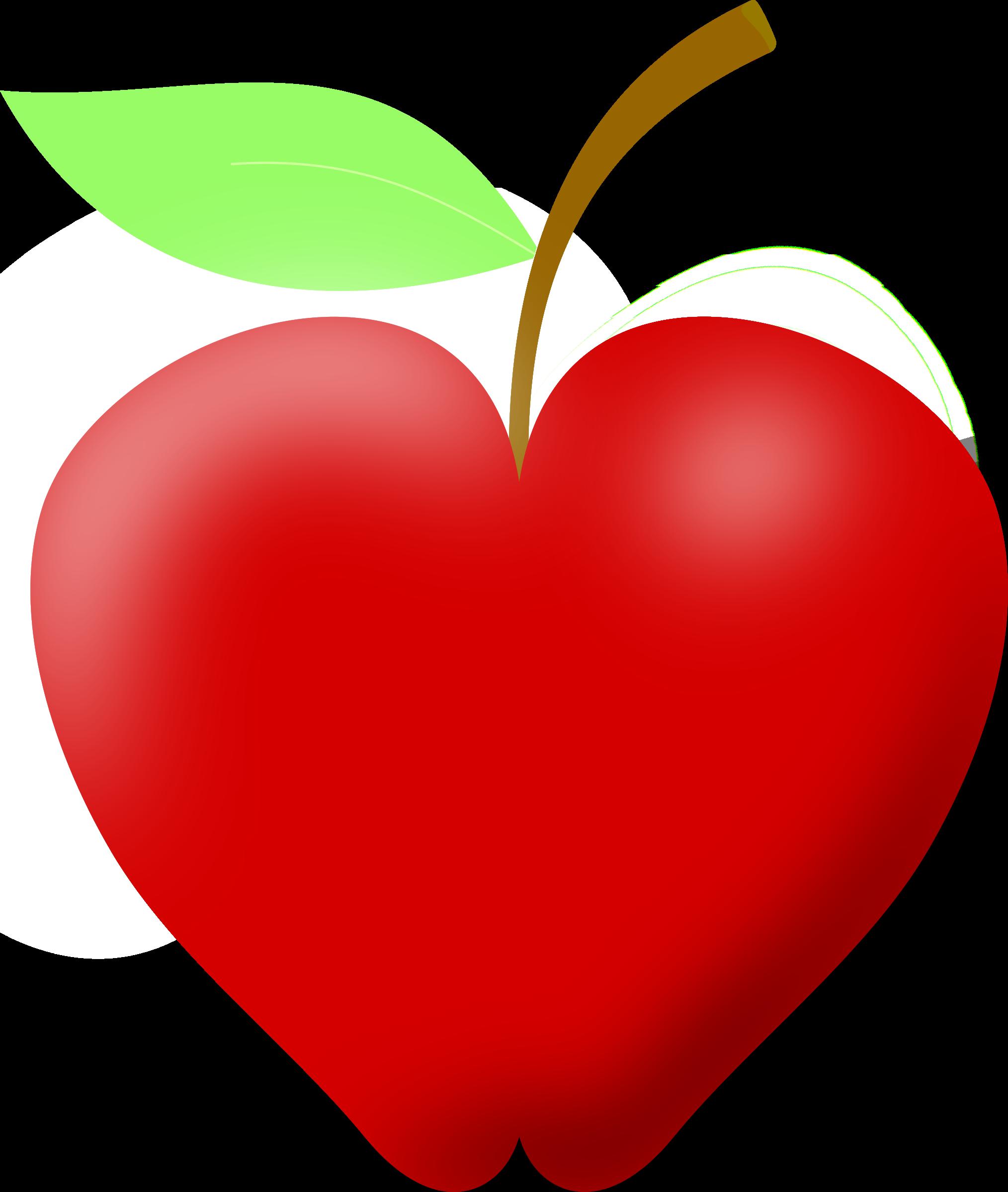 Heart shaped caramel apple clipart png jpg freeuse stock Apple clipart heart jpg freeuse stock
