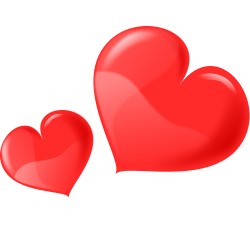 Clipart of hearts clip transparent Heart clipart free clip art of hearts clipart clipart - Clipartix clip transparent