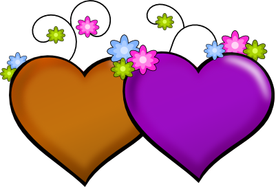 Clipart of hearts and flowers vector freeuse download Hearts With Flowers Clipart #MAxCu2 - Clipart Kid vector freeuse download