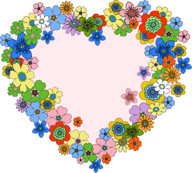 Clipart of hearts and flowers clip transparent Clipart heart | Heart clipart❤ | Pinterest | Clip art and Art clipart clip transparent