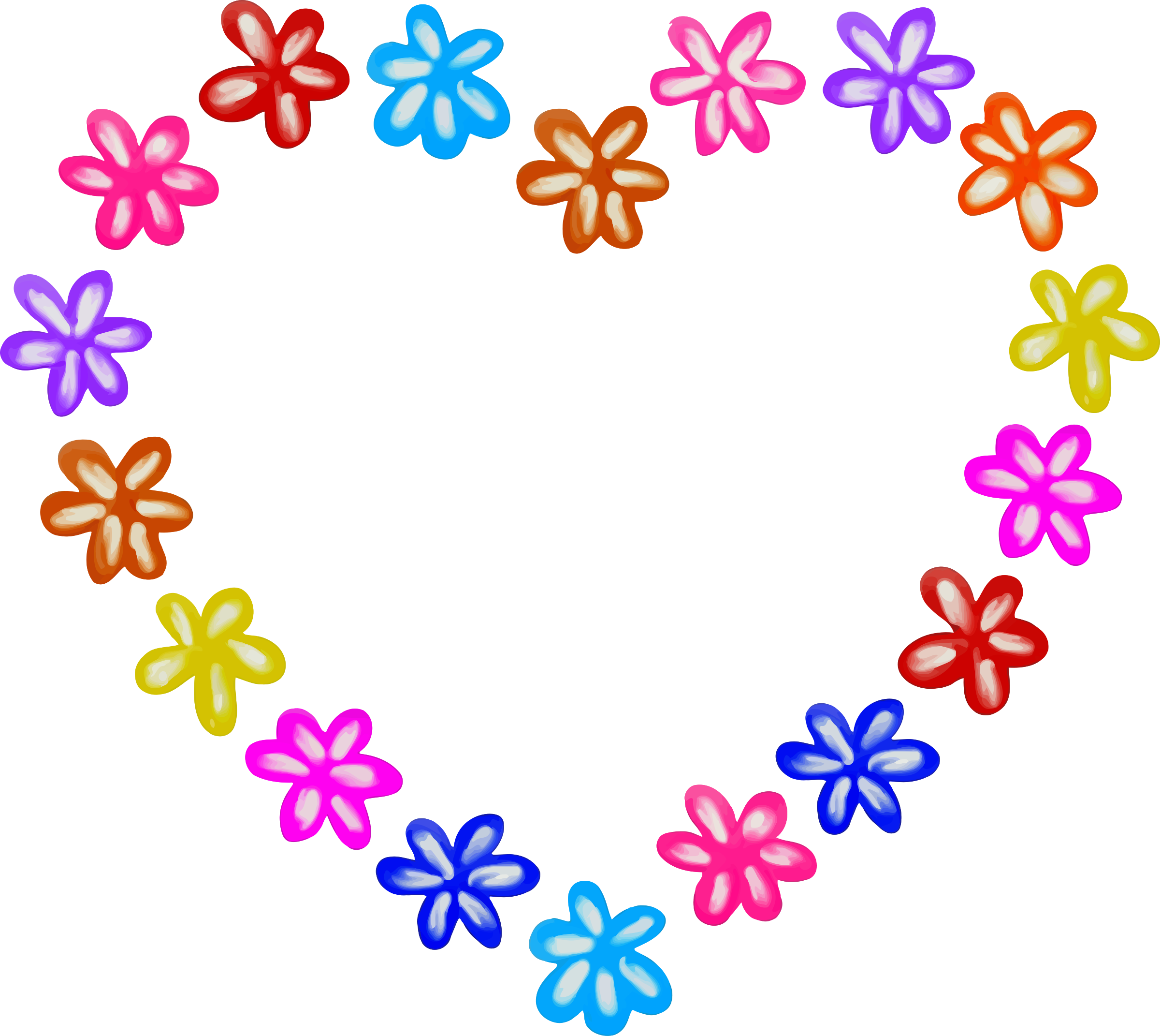 Bleeding heart flower clipart png royalty free stock Heart Flower Clipart at GetDrawings.com | Free for personal use ... png royalty free stock