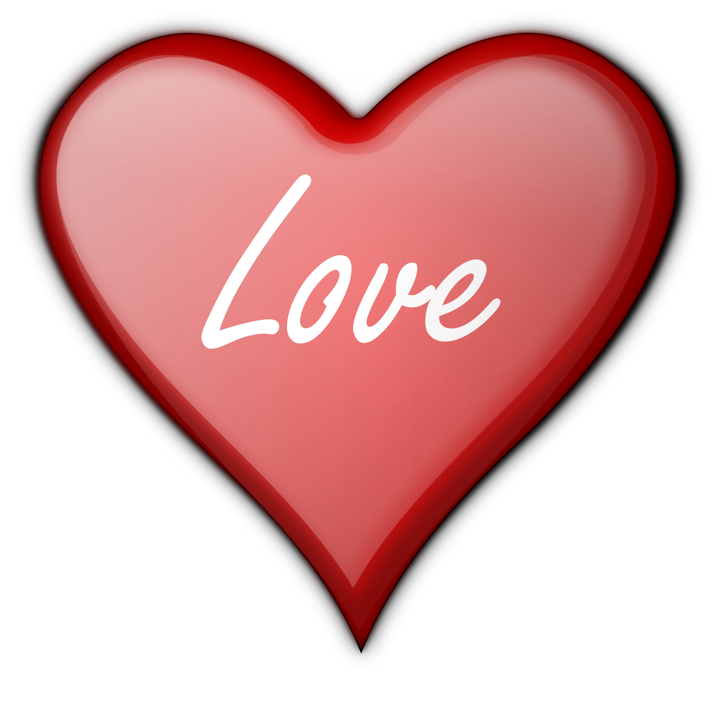 Small heart clipart free jpg freeuse stock Clipart - Heart Gloss 4 jpg freeuse stock