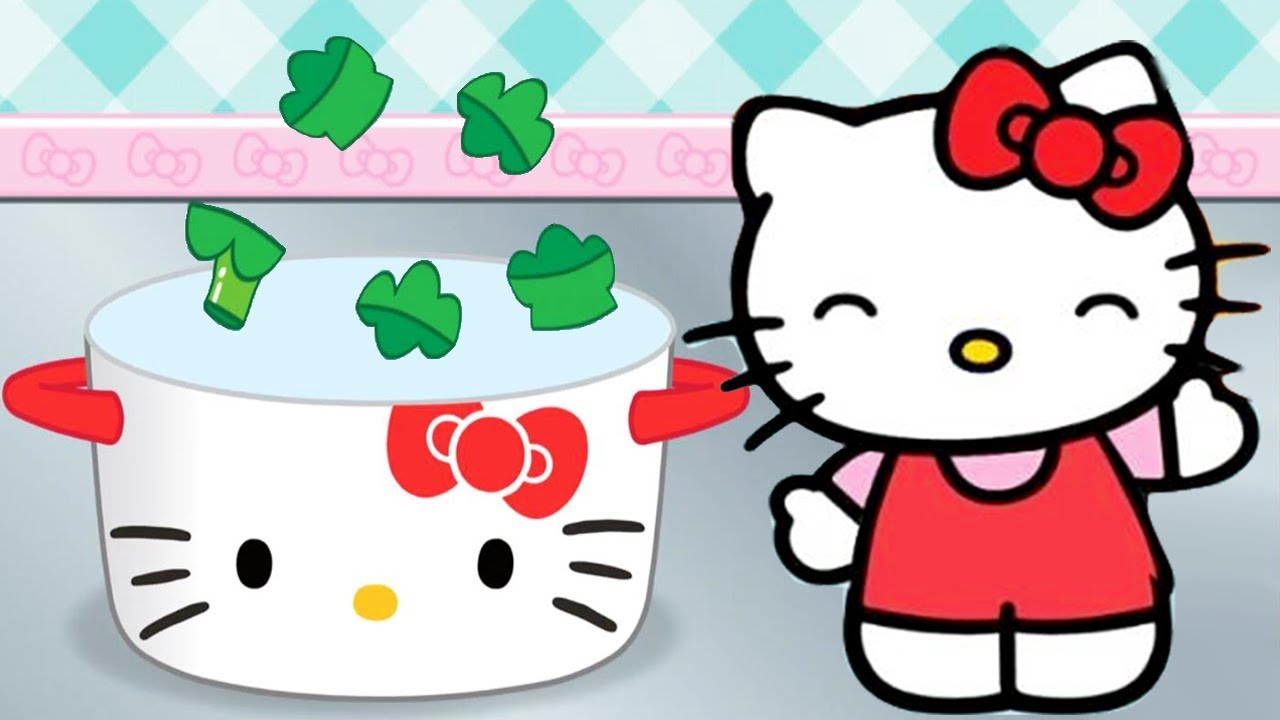 Clipart of hello kitty baking in the kitchen clip art free download Fun Kitchen Cooking Game For Kids - Hello Kitty Lunchbox - Cute Cooking and  Baking To Go clip art free download