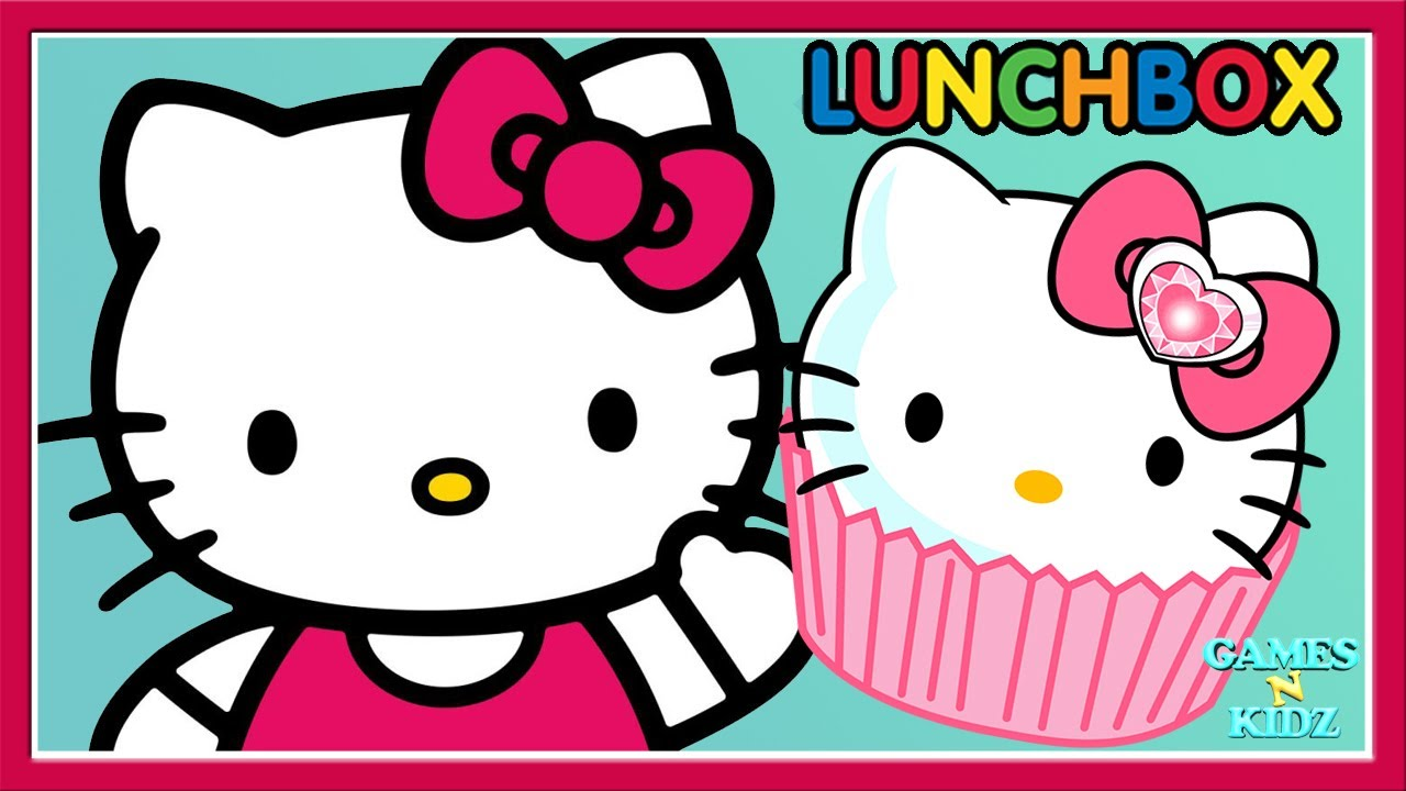 Clipart of hello kitty baking in the kitchen png free stock Hello Kitty Lunch Box - Kids Learn Cooking - Fun Kitchen Cook Yummy Foods  Baby Games png free stock