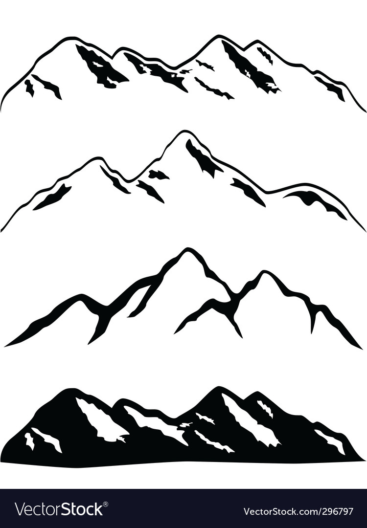 Clipart of high mountain ranges jpg transparent stock Mountain ranges jpg transparent stock