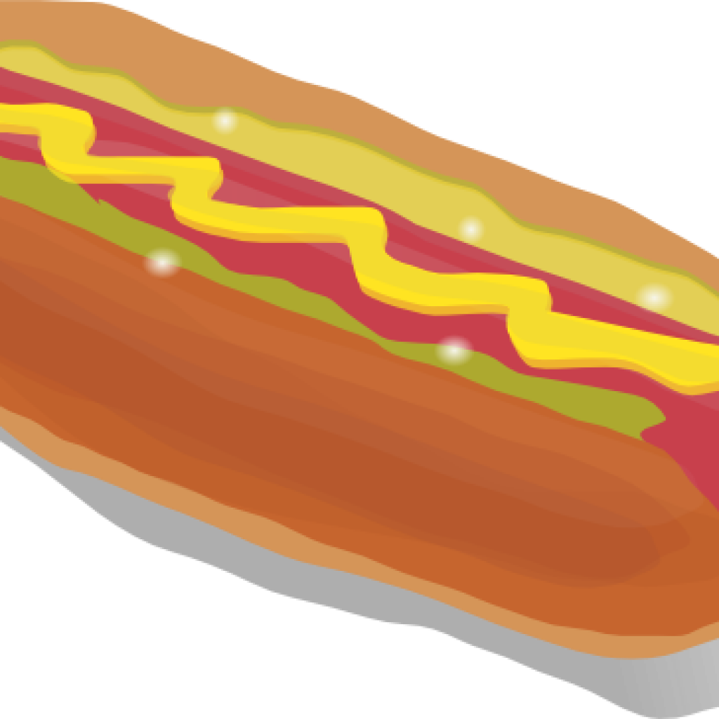 Free clipart hot dog picture black and white Free Hot Dog Clipart music notes clipart hatenylo.com picture black and white