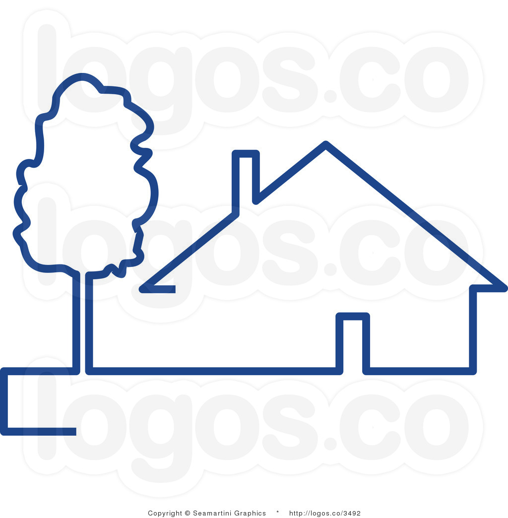 Clipart of house logo png library stock Free logo clipart house - ClipartFest png library stock