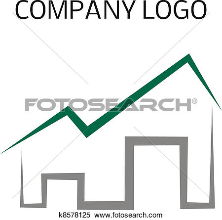 Clipart of house logo graphic library stock Clipart of House logo k8578125 - Search Clip Art, Illustration ... graphic library stock