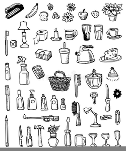 Clipart of household items svg stock Free Clipart Household Items | Free Images at Clker.com - vector ... svg stock