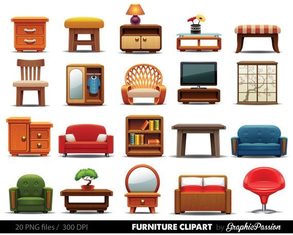 Interior clipart clipart free Furniture clipart ,Clipart Furniture, Home decor clipart, Home ... clipart free