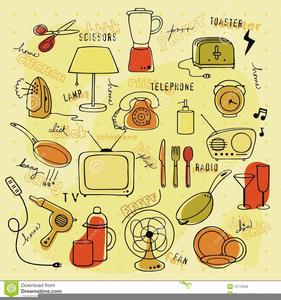 Clipart of household items jpg royalty free Clipart Household Items | Free Images at Clker.com - vector clip art ... jpg royalty free