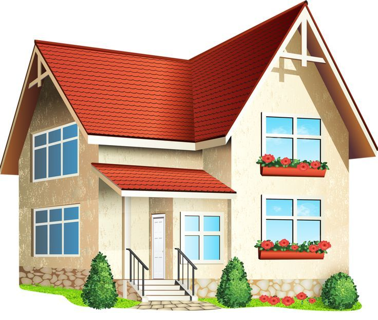 Clipart of houses and buildings clipart freeuse library House Building Clipart 101 Clip Art | בית | House illustration ... clipart freeuse library