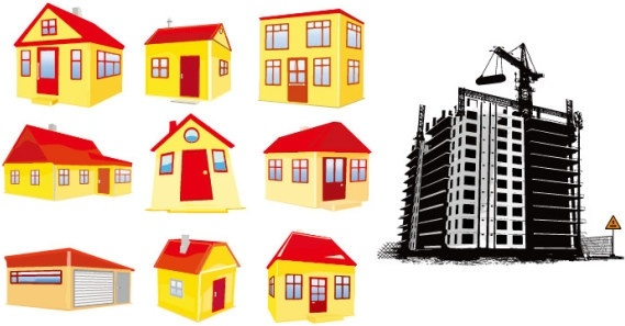 Clipart of houses and buildings png Building houses clipart 3 » Clipart Station png