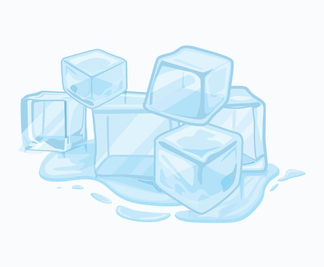 Clipart of ice graphic library Melting Ice Cubes Clipart Vector Vector Art & Graphics | freevector.com graphic library