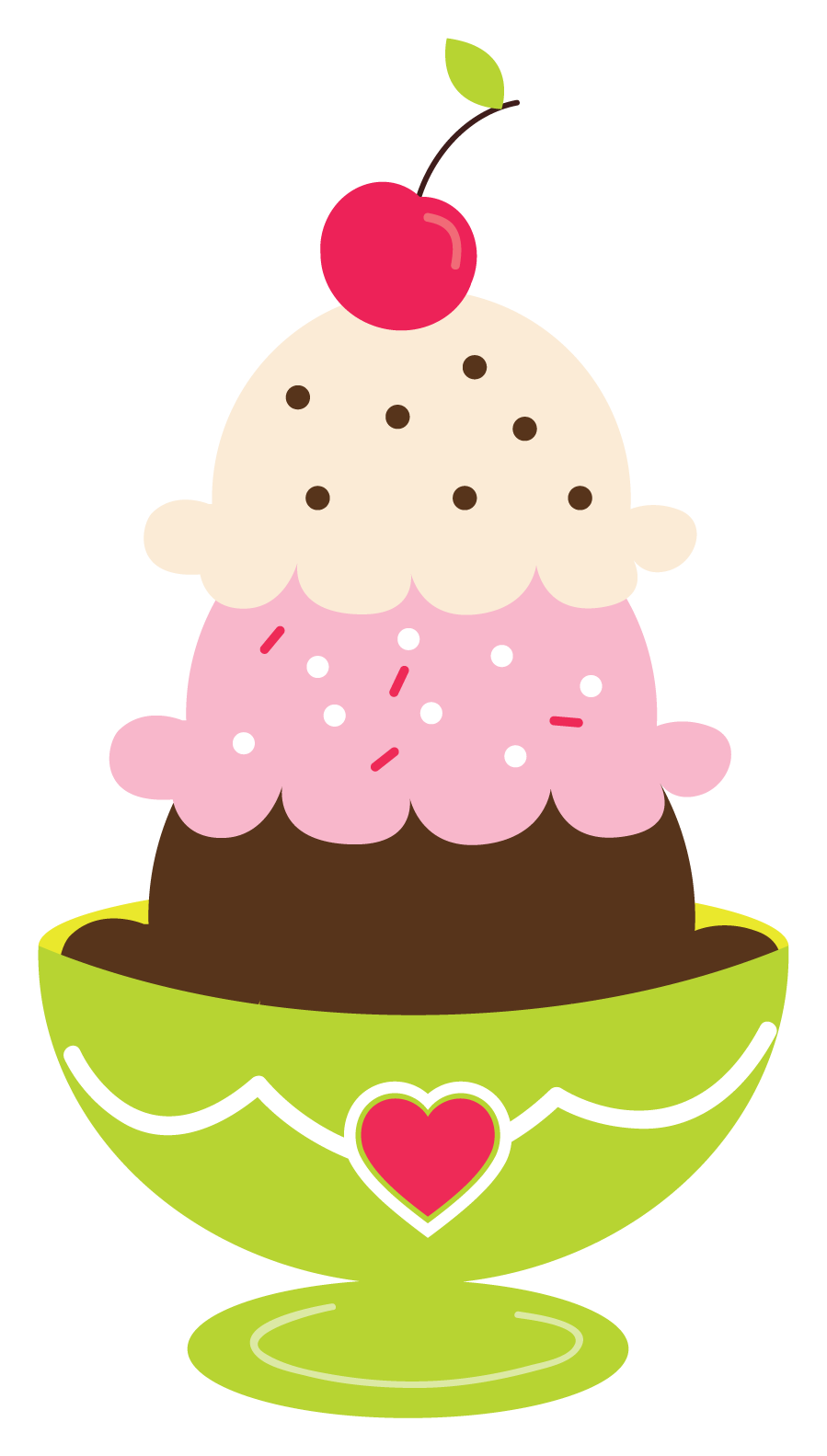 Clipart of ice cream sundaes picture freeuse download Ice Cream Sundae Clipart | Printables and Fonts | Ice cream cone ... picture freeuse download