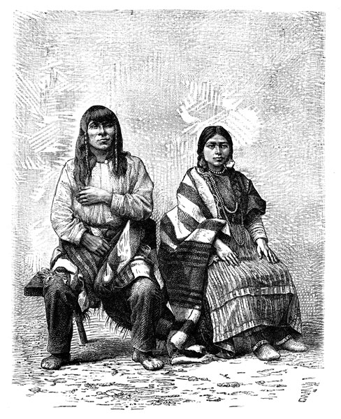 Clipart of indians on a california mission banner free California Indians banner free