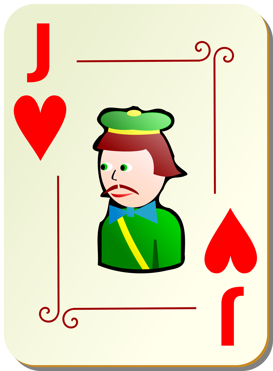 Clipart of jack of hearts card clip art transparent download Playing Cards | Free Stock Photo | Illustration of a Jack of Hearts ... clip art transparent download