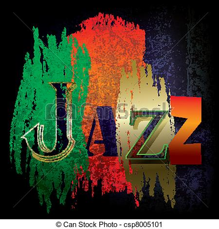 Clipart of jazz logo clipart stock Vector Clip Art of Abstract jazz music background - Abstract ... clipart stock