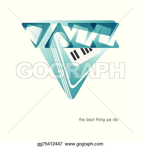 Clipart of jazz logo vector transparent stock Vector Art - Jazz logo. EPS clipart gg75412447 - GoGraph vector transparent stock