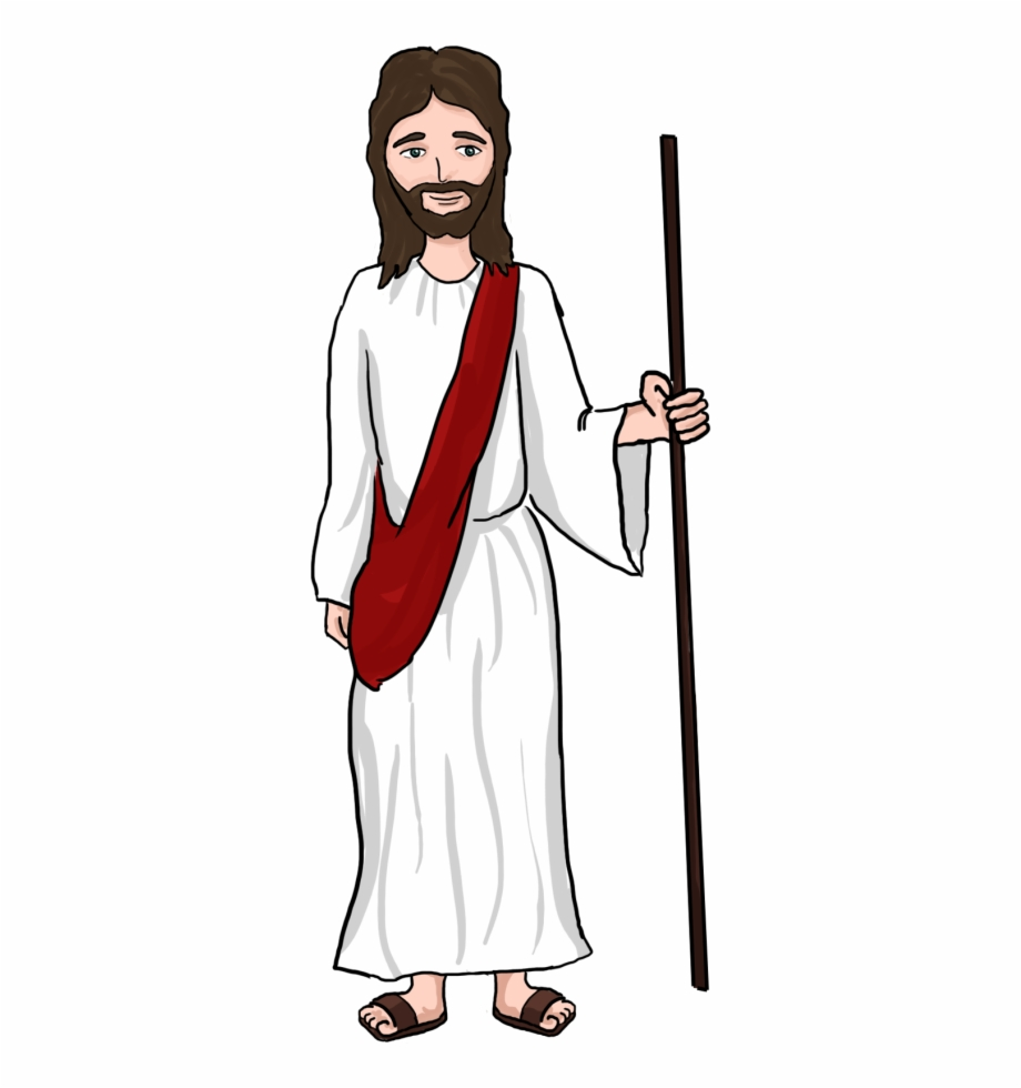 Clipart of jesus christ as a shepherd picture download Jesus Shepherd Clipart Clipartxtras - Jesus Christ Cartoon Png Free ... picture download