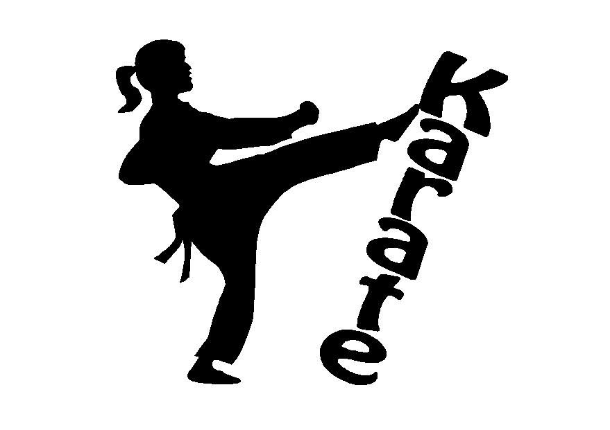 Clipart of karate banner library library Karate girl silhouette clipart | Karate Ideas | Shotokan karate ... banner library library