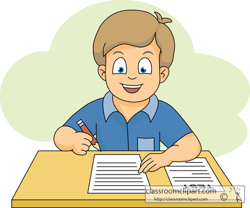 Clipart of kid working by themself image freeuse Goldenhill Primary School image freeuse