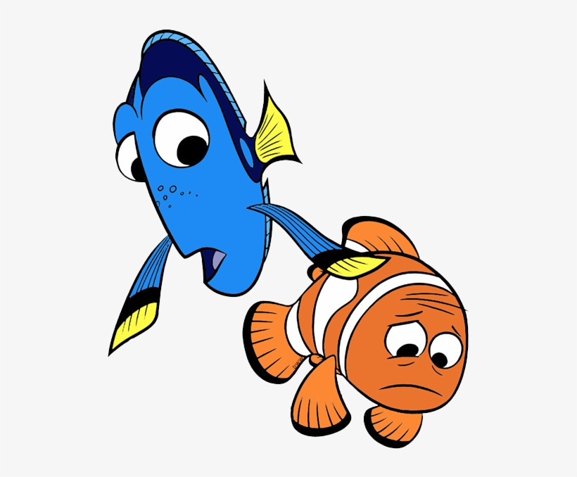 Clipart of kids dressed as dory and marlin png Finding Dory Clip Art - Finding Dory Character Marlin - Free ... png