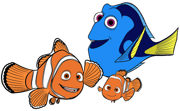 Clipart of kids dressed as dory and marlin clipart freeuse Dory, Nemo, Marlin | Scrapbook | Marlin nemo, Dory, Finding dory clipart freeuse