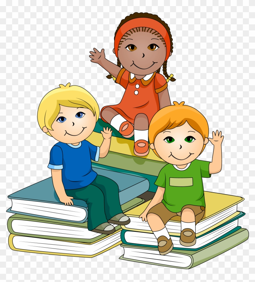 Clipart of kids in school graphic transparent stock For > Children Learning In - Clipart Kids School, HD Png Download ... graphic transparent stock
