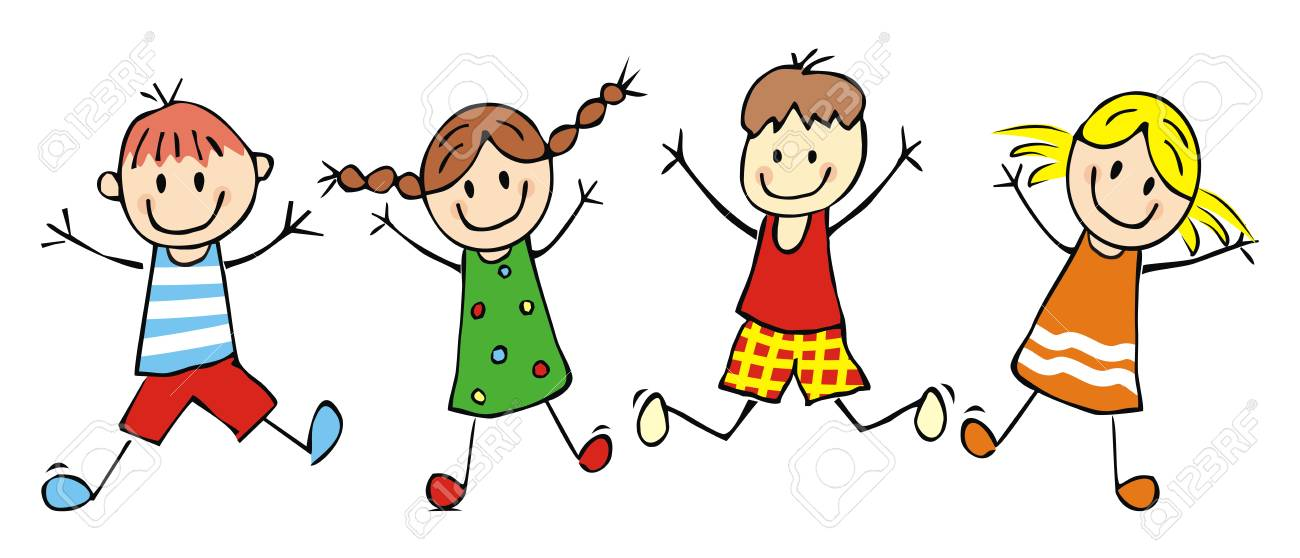 Clipart of kids jumping picture transparent stock Kids Jumping Clipart (107+ images in Collection) Page 1 picture transparent stock