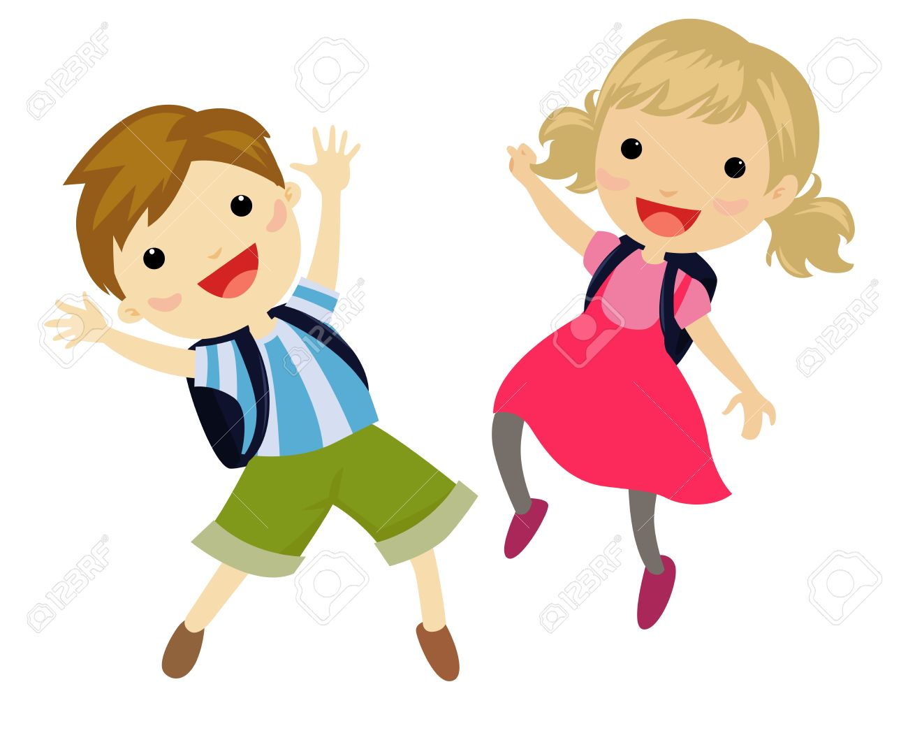 Kids jumping clipart banner library stock Kids jumping clipart 5 » Clipart Station banner library stock