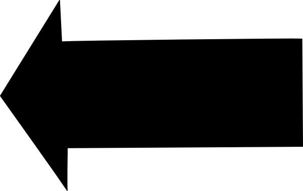 Clipart of left arrow transparent download Left Arrow clip art Free vector in Open office drawing svg ( .svg ... transparent download