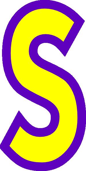 Clipart of letter s transparent stock Letter S Clipart - Clipart Kid transparent stock