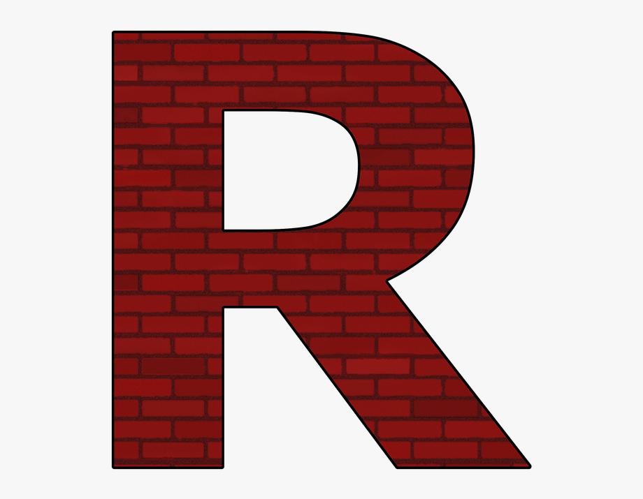 Clipart of letter s words svg free R Alphabet Letter Abc Transparent Font Words - Alphabet R #1261520 ... svg free