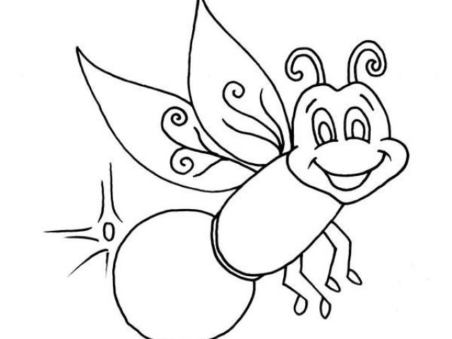 Clipart of lightning bug black and white clipart black and white library Free Firefly Clipart, Download Free Clip Art on Owips.com clipart black and white library