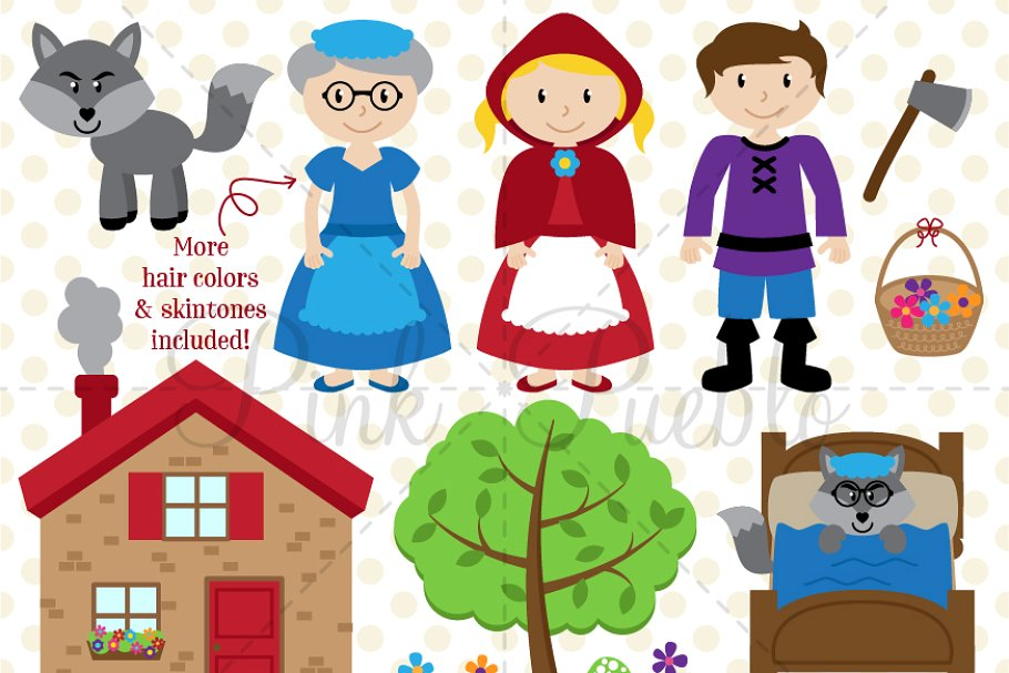My hood clipart clipart transparent download Little Red Riding Hood Clipart clipart transparent download
