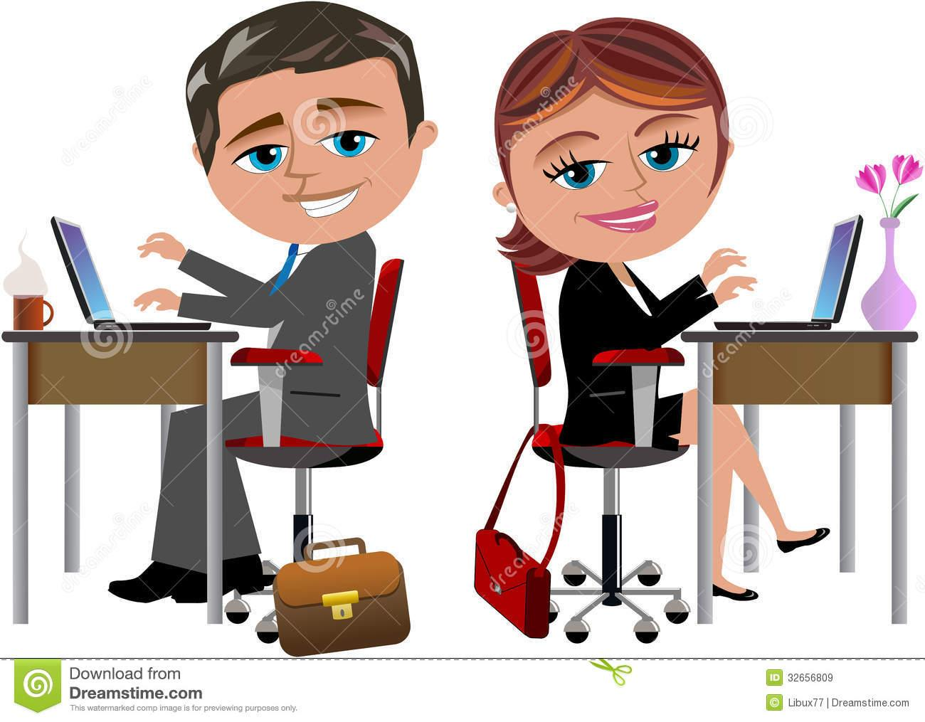 Clipart of little red stick people at customer service desk black and white stock People of the desk clipart - ClipartFest black and white stock